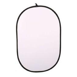 LINKSTAR Refletor 2 em 1 Prateado/Branco 100x150cm