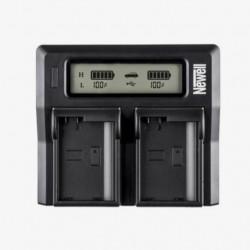 Newell Carregador Duplo DC-LCD de Baterias NP-F, NP-FM
