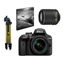 Nikon D3400 + 18-55 + 55-200 VR II + EXTRAS