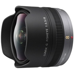Panasonic Lumix G Fisheye 8mm f/3.5