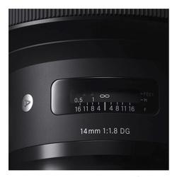 Sigma 14mm f/1.8 ART DG HSM p/ Sony