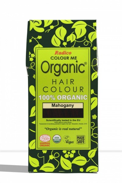 Certified Organic Hair Color Dye - Mahogany images