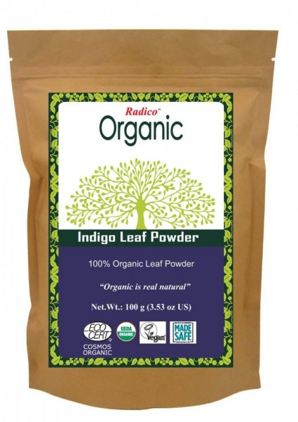 Indigo Leaf Powder for Hair Coloring images