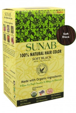 100% Natural Hair Color - Soft Black images