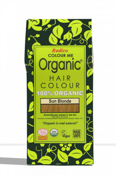 Certified Organic Hair Color Dye -Sun Blonde images