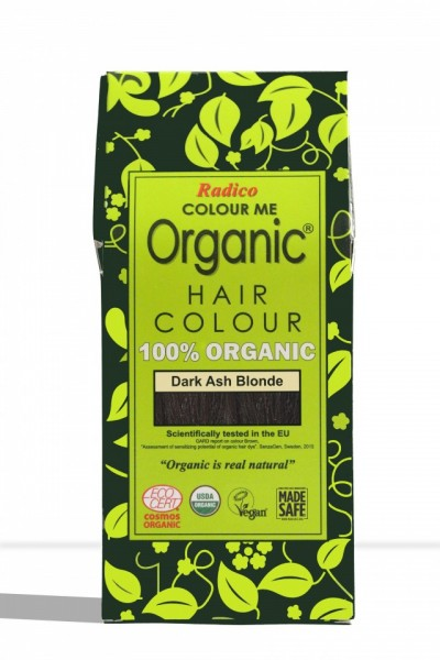 Certified Organic Hair Color Dye - Dark Ash Blonde images