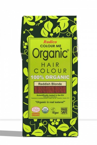 Certified Organic Hair Color Dye - Reddish Blonde images