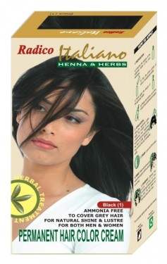 Radico Hair Color Cream italiano - Black(1) images
