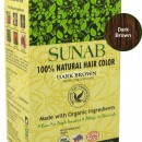 100% Natural Hair Color - Dark Brown