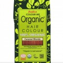Certified Organic Hair Color Dye - Caramel Blonde