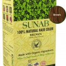 100% Natural Hair Color - Brown