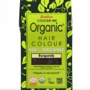 Certified Organic Hair Color Dye - Burgundy