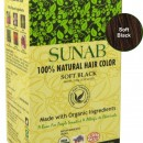 100% Natural Hair Color - Soft Black