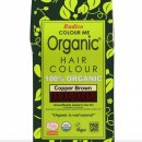 Certified Organic Hair Color Dye - Copper Brown