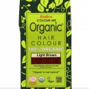 Certified Organic Hair Color Dye - Light Brown