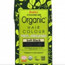 Certified Organic Hair Color Dye - Soft Black