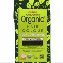 Certified Organic Hair Color Dye - Dark Brown