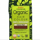 Certified Organic Hair Color Dye - Auburn Red