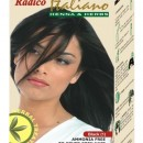 Radico Hair Color Cream italiano - Black(1)