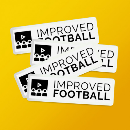 Pack stickere logo