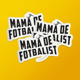 """Pack stickere """"Mamă de fotbalist"""""""