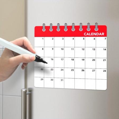 Calendar magnetic frigider
