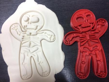 Forma prajituri skeleton Halloween