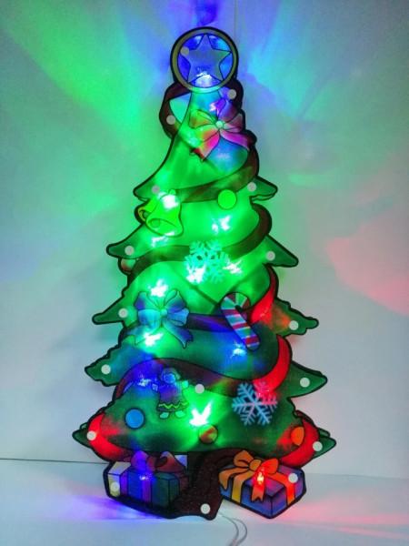 Bradulet Craciun decoratiune LED