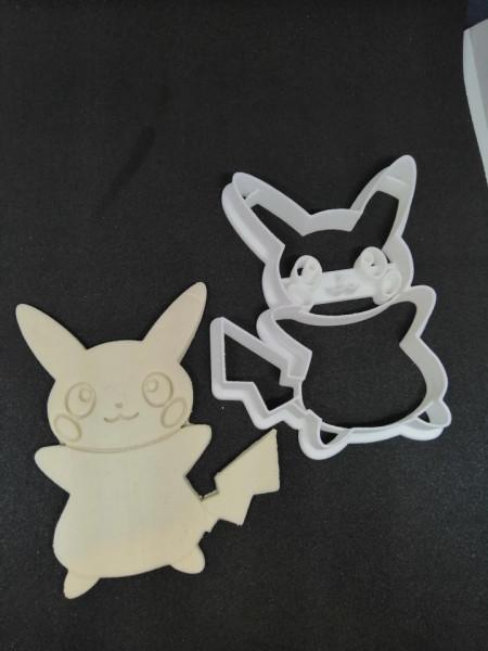 Forma decupaj Pikachu