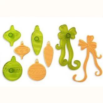 Set 4 decupatoare Ornamente de Craciun