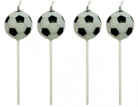 Set 4 lumanari Fotbal