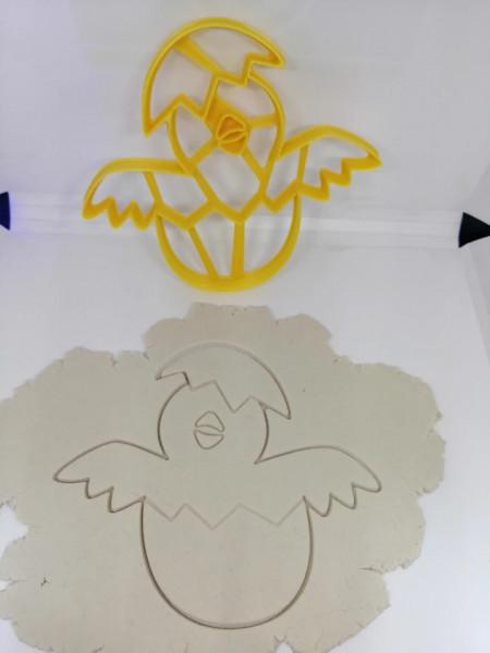Forma 3D puisor de gaina in ou