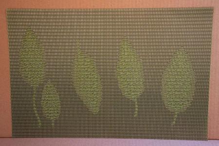 Set 4 suporturi farfurii Frunze
