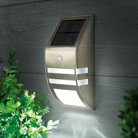 Lampă de perete cu lumină solară LED cu senzor de mișcare