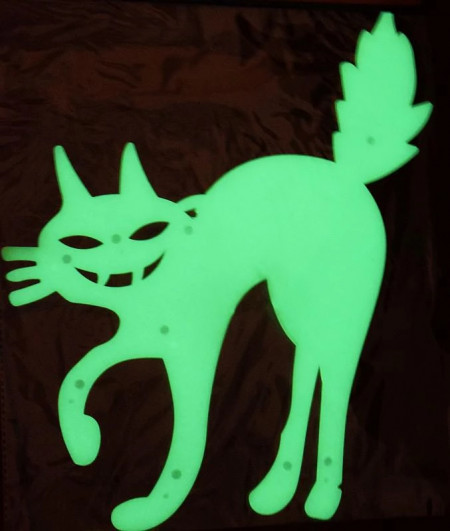 Pisica fosforescenta