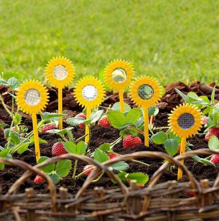 6 floarea-soarelui reflectorizante
