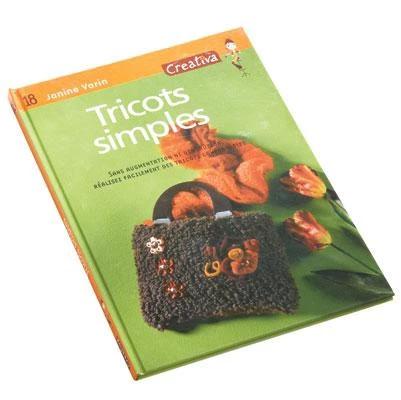 Cartea œTricotage simple in limba franceza