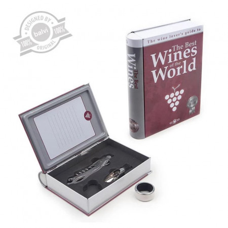 Cutie cadou + accesorii vin