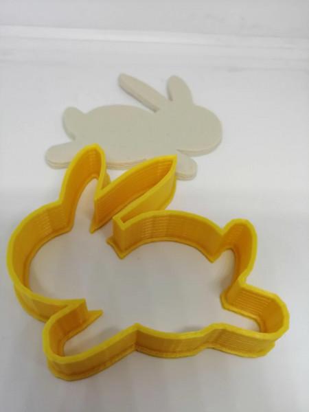 Forma 3D iepuras