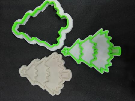 Forma decupaj bradulet 3D