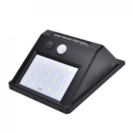Lampa solară cu senzor de mişcare exterior