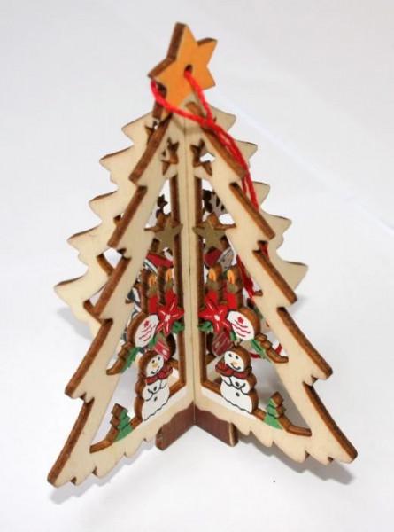 Ornament lemn Bradut 3D