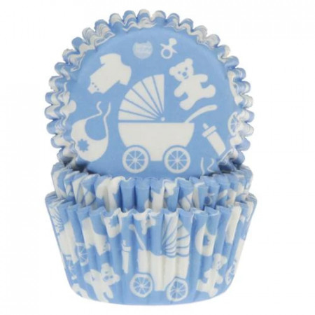 50 hartiute briose Baby bleu