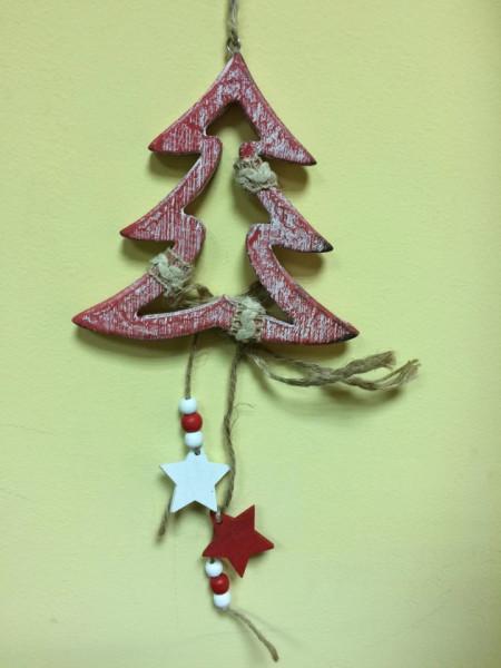 Ornament brad cu stelute