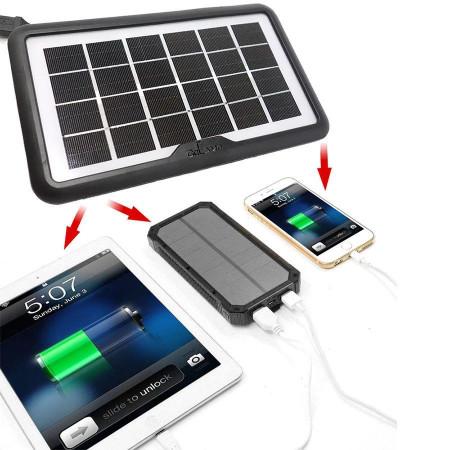 Panou solar iesire USB incarcare telefon tableta