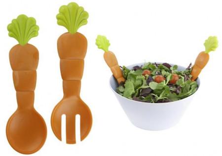 "Set pentru servit salata ""Morcovi"""