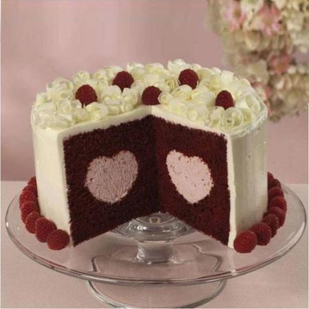 Set pentru tort Inima ascunsa