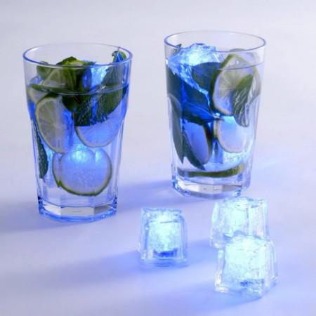 12 cuburi de gheata LED