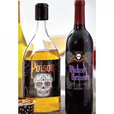 6 etichete pt sticle Halloween