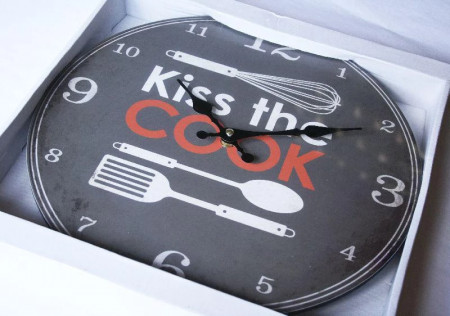 Ceas Kiss the Cook